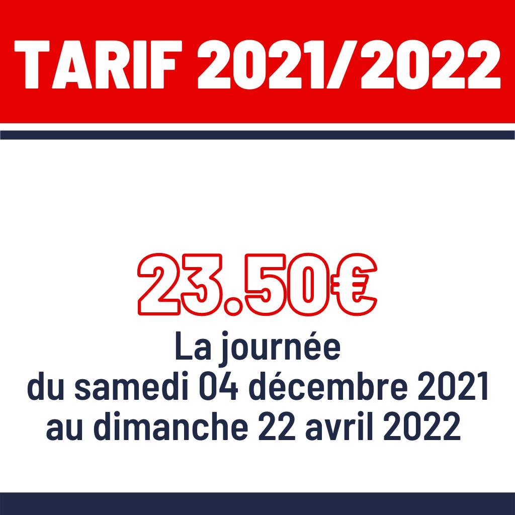 Tarif 20212022 Alpe d'Huez